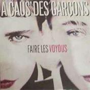 """Picture of Faire les voyous - A caus' des garcons - 7"""" 45 rpm"""