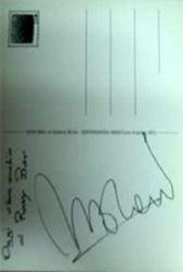 Picture of Autografo - Morandi Gianni - Memorabilia