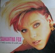 "Picture of I only wanna be with you - Fox Samantha - 12"" Maxisingle"