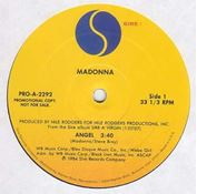 "Picture of Angel - Madonna - 12"" Maxisingle"