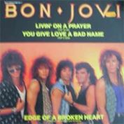 "Picture of Livin' on a prayer - Bon Jovi - 12"" Maxisingle"
